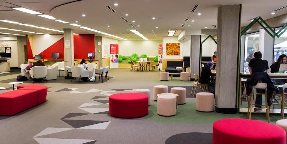 Không gian thư viện trường Đại học Murdoch